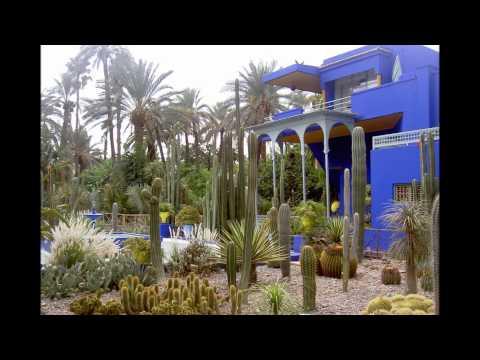 Les jardins de majorelle Marrakech