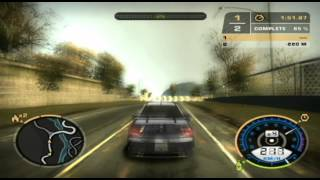 NFS Most Wanted Gameplay Blacklist 10 pink slip