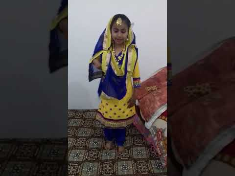 Punjabi kuddi : gain 1st prize in class 2nd from Blooming Dales School (secter 15)Hissar