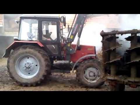 Работники Минского тракторного отметили 9 мая зрелищным.