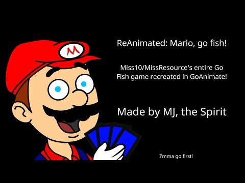 ReAnimated: Mario, Go Fish!