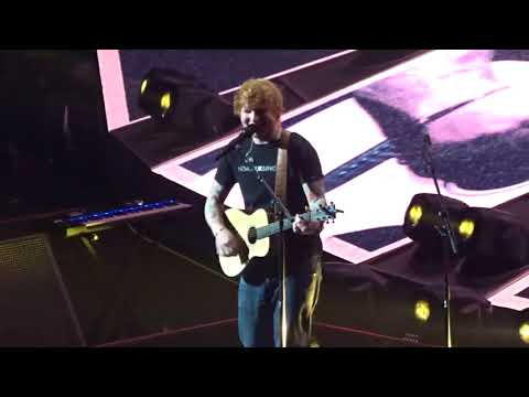 """Ed Sheeran """"Castle on the Hill"""" 9.20.17 @ Capital One Arena in Washington D.C."""