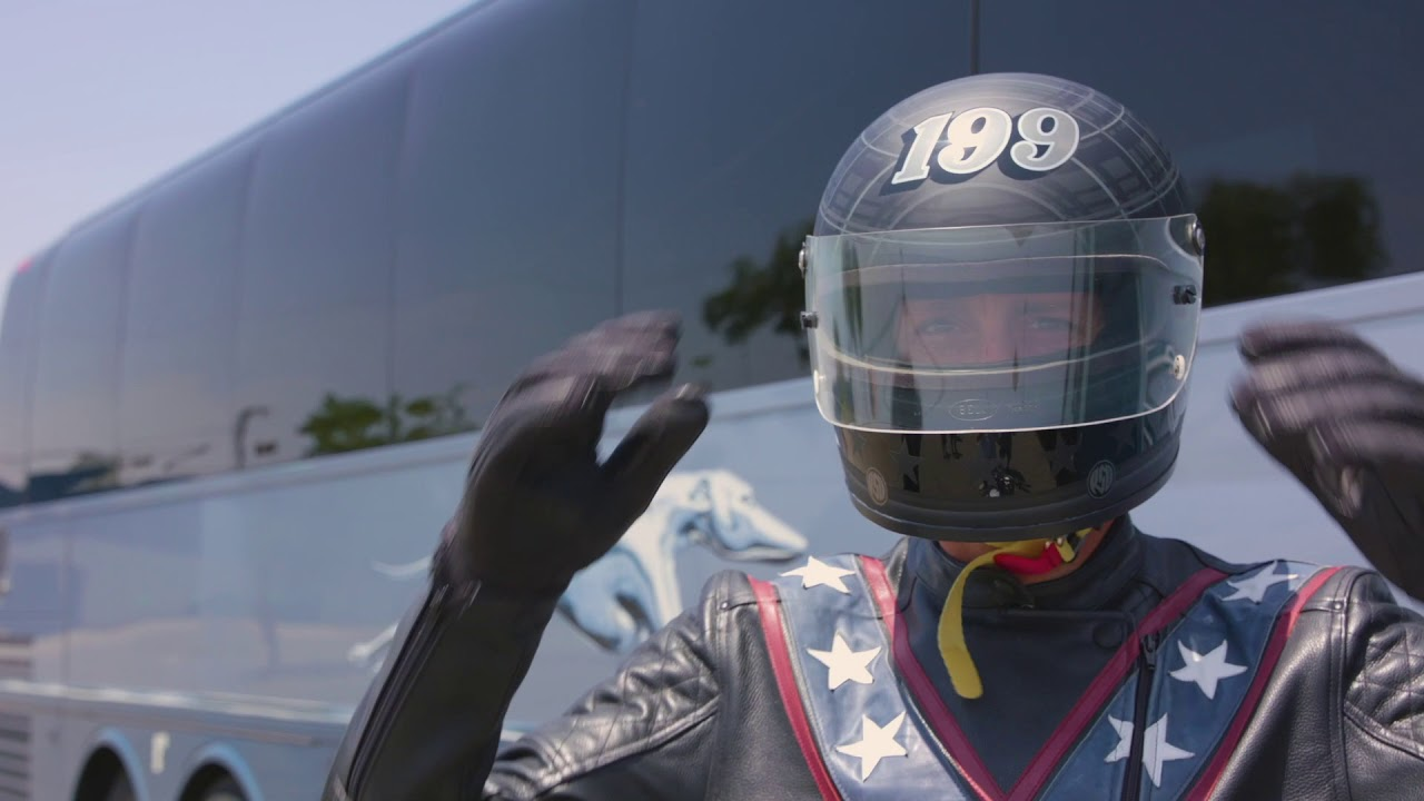 On Now: Travis Pastrana Takes on Three Evel Knievel Records