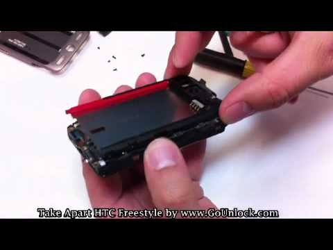 HTC Freestyle F5151 Screen Disassemble/Take Apart/Repair Video Guide
