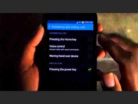 Samsung Galaxy S5 : How to Change Answer Calls (Android Phone)