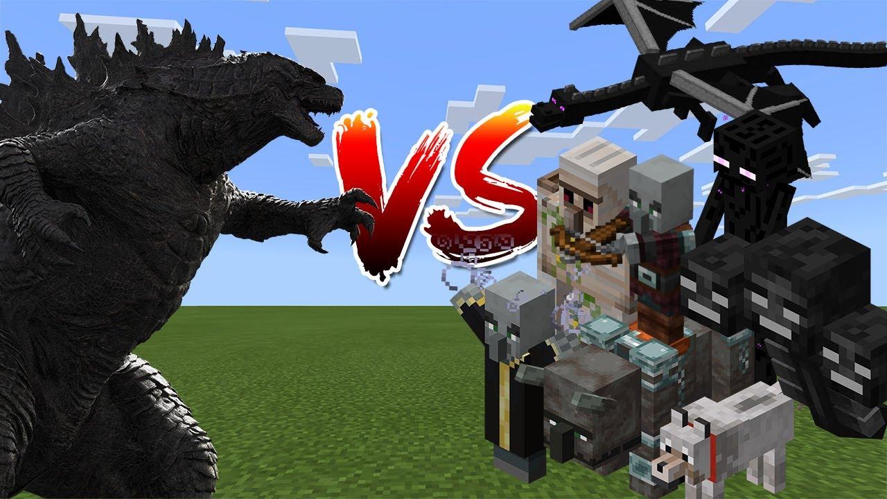 Godzilla vs Minecraft