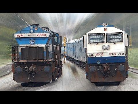 Unlimited CROSSING Trains | INDIAN RAILWAYS
