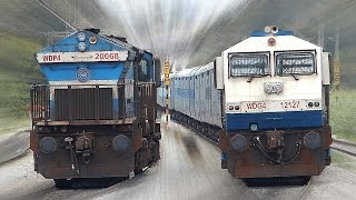 Unlimited CROSSING Trains | INDIAN RAILWAYS thumbnail