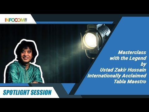 Spotlight Session - Masterclass with the Legend by Ustad Zakir Hussain