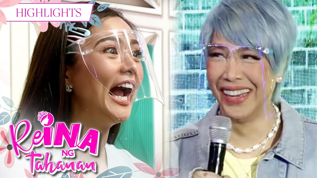 """Download Kim believes in what Vice said, """"Once a cheater, always a cheater""""   It's Showtime Reina Ng Tahanan"""