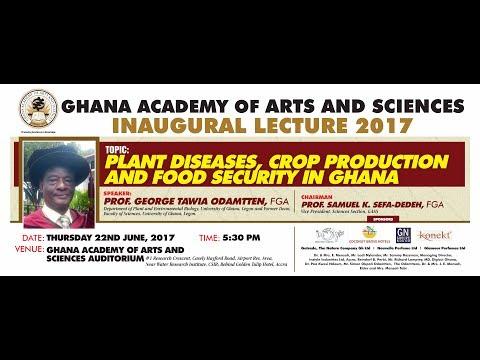 Inaugural Lecture by Prof. George Tawia Odamtten, FGA