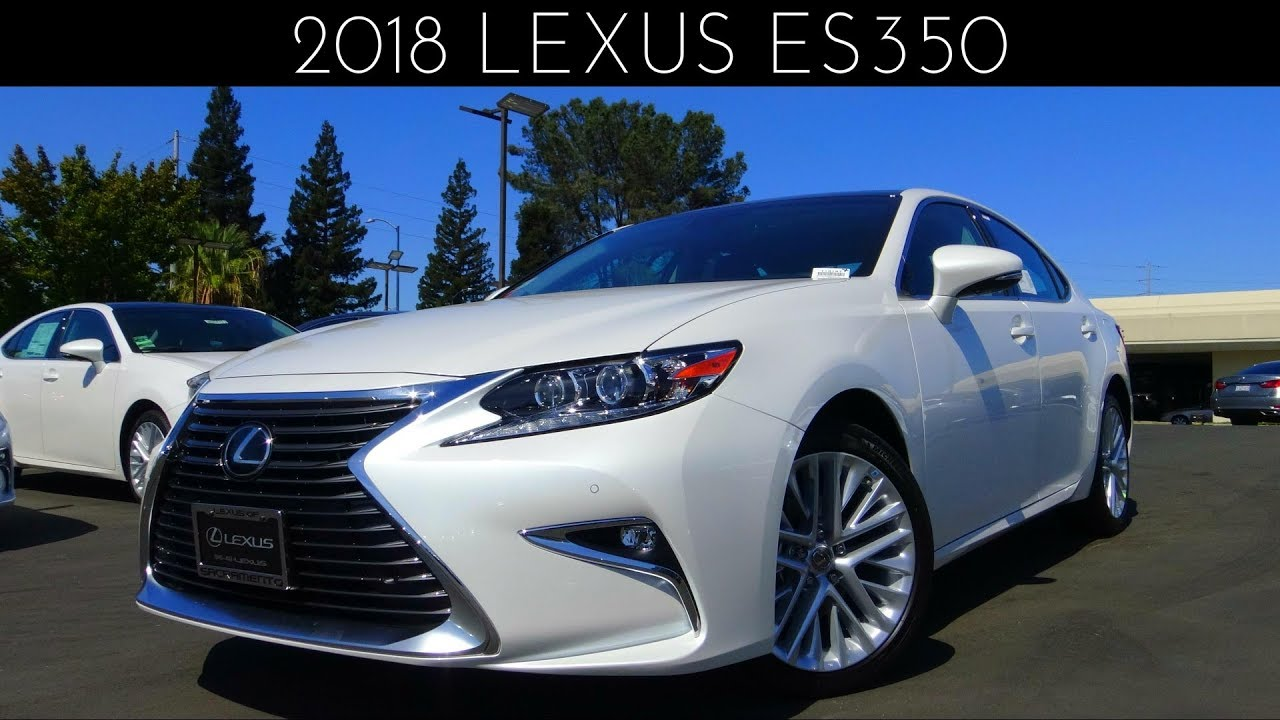 2018 lexus es350 review test drive 3 5 l v6 youtube. Black Bedroom Furniture Sets. Home Design Ideas