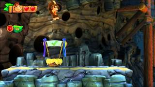 Donkey Kong Country: Tropical Freeze - 2-B Rodent Ruckus (Direct Feed Gameplay for Wii U)