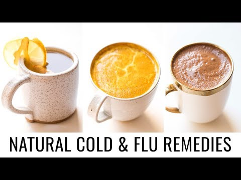 NATURAL COLD & FLU REMEDIES With Tonic Recipes 😷