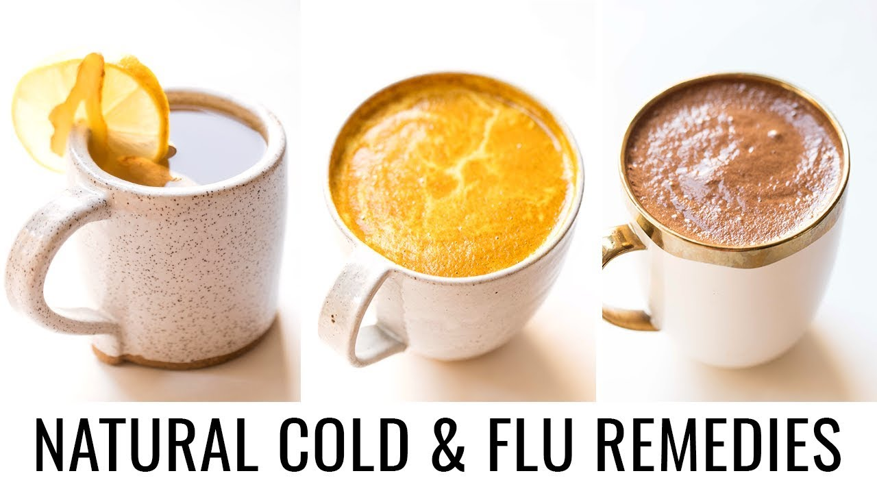 NATURAL COLD and FLU REMEDIES with tonic recipes