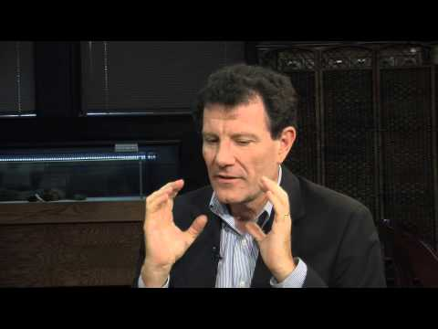 Nicholas Kristof, The Drexel InterView (Season 12)