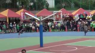 102年東大附小運動會:六年級大隊接力賽