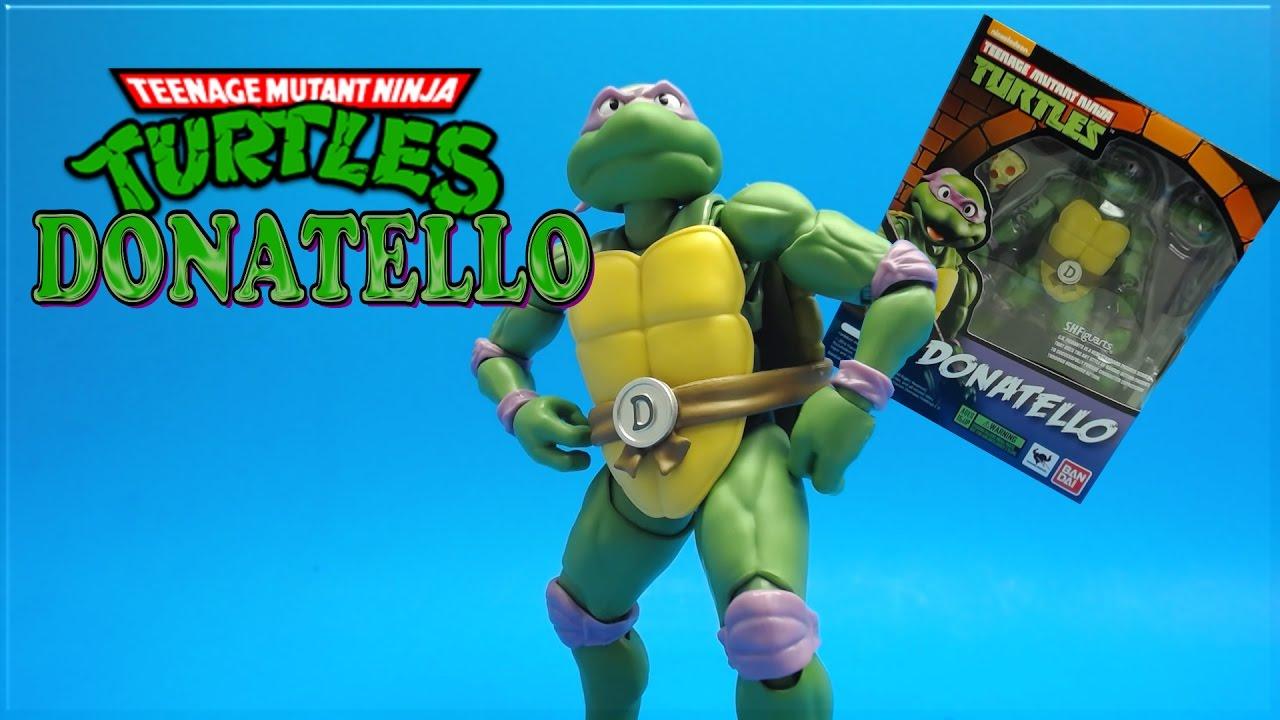 SH Figuarts Teenage Mutant Ninja Turtles Donatello Action Figure Review