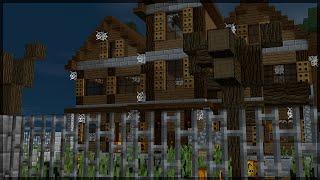 Minecraft: MINHA CASA MAL ASSOMBRADA! (BUILD BATTLE)