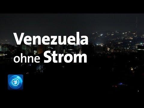 Krise in Venzuela: Stromausfall im ganzen Land