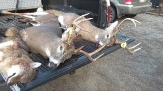 Rifle Buck Season Deer Hunting 2012 - Hunter