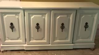 China Cabinet Base: Before & After