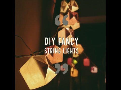 DIY FANCY STRING LIGHTS 🌟