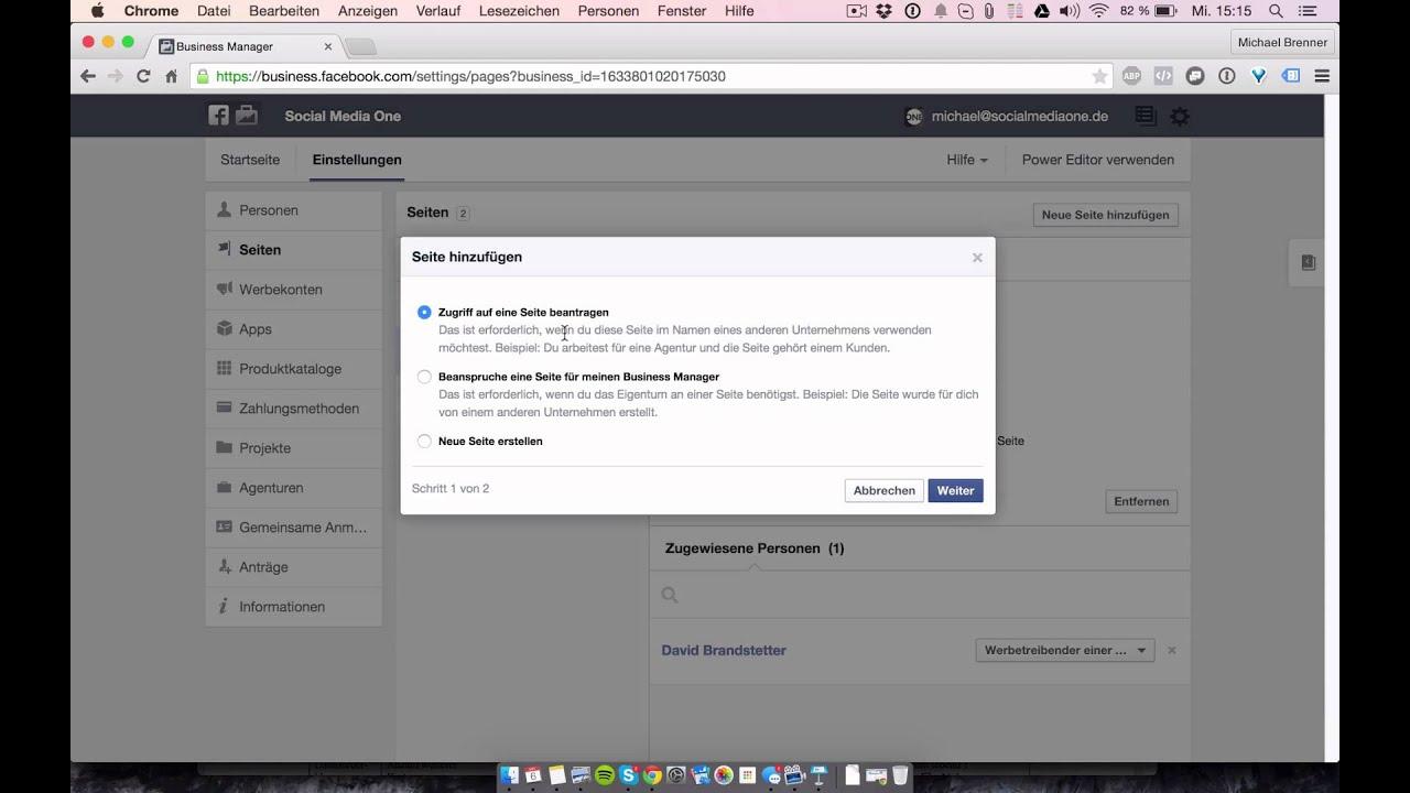 Facebook Business Manager einrichten - Anleitung