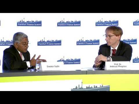 Frankfurt Finance Summit 2016 - Conversation with Diwakar Gupta & Dr. Andreas Pfingsten