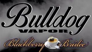 Blackberry Brulee E-juice Review (bulldog Vapor)