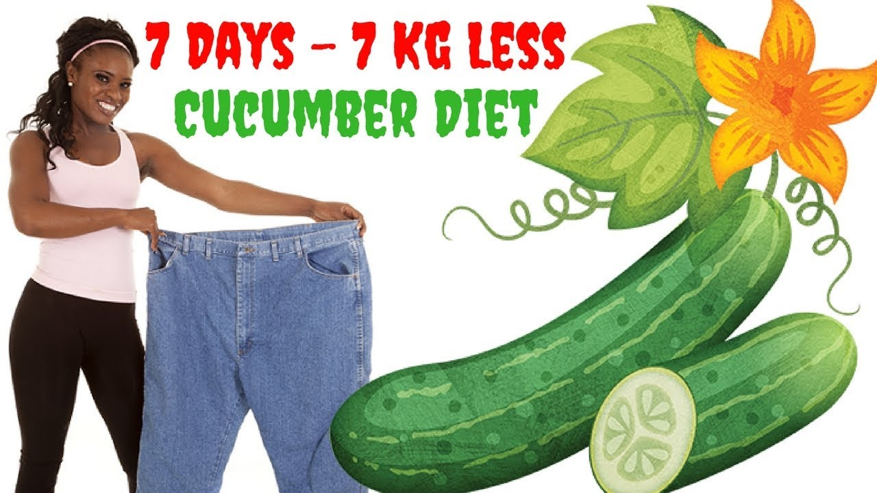 how to eat cucumber for weight loss