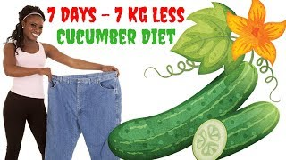 cucumber diet for weight loss | 7 Days Diet, 7 Kg Less - clickbank review