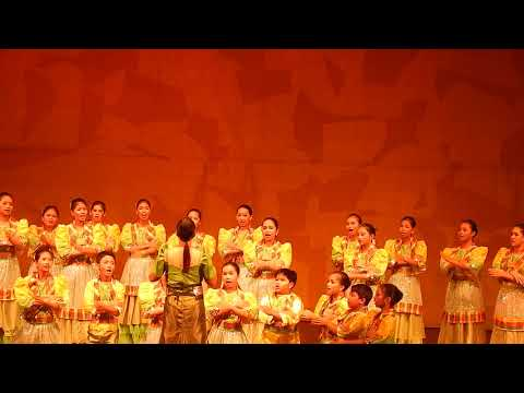 CHORAL SINGING AT CULTURAL CENTER OF THE PHILIPPINES