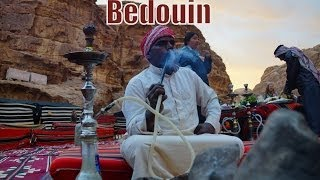 Sleeping in a Bedouin tent, dancing, singing, smoking hookah and riding camels in Wadi Rum, Jordan