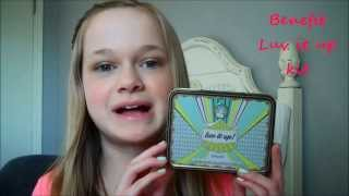 "Benefit ""Luv it up!"" Tutorial!  {Face, Eyes, Lips}"