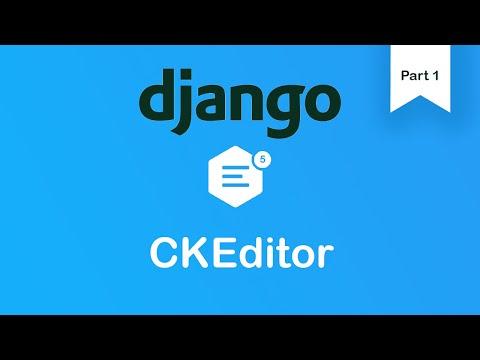 CKEditor 5 | Python 3 | Django 2.0