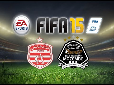 FIFA 15 Gameplay Club Africain vs TP Mazembe