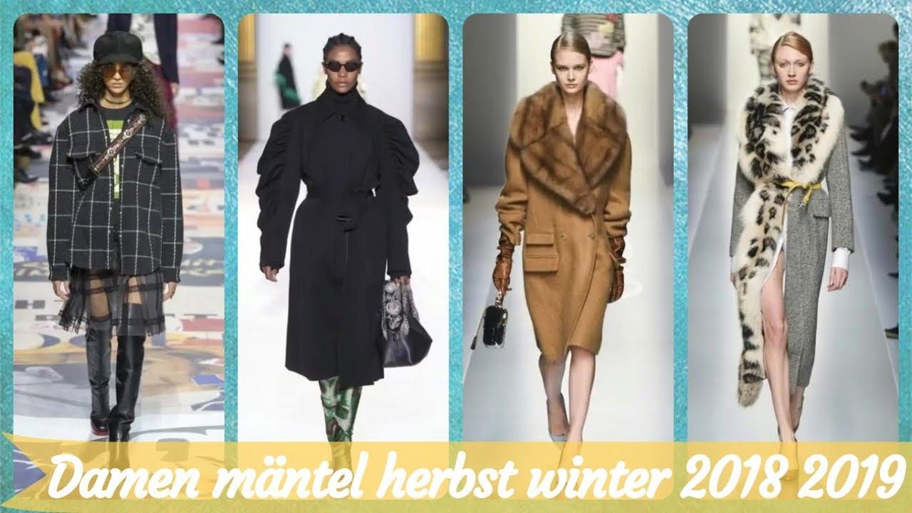 quality design 434bf e98f1 Die 30 Ideen ⭐ zu Modetrends damen mäntel herbst winter 2018 2019