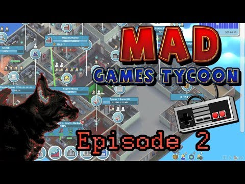 Heading Towards Financial Ruin | Let's Play Mad Games Tycoon - Ep 2