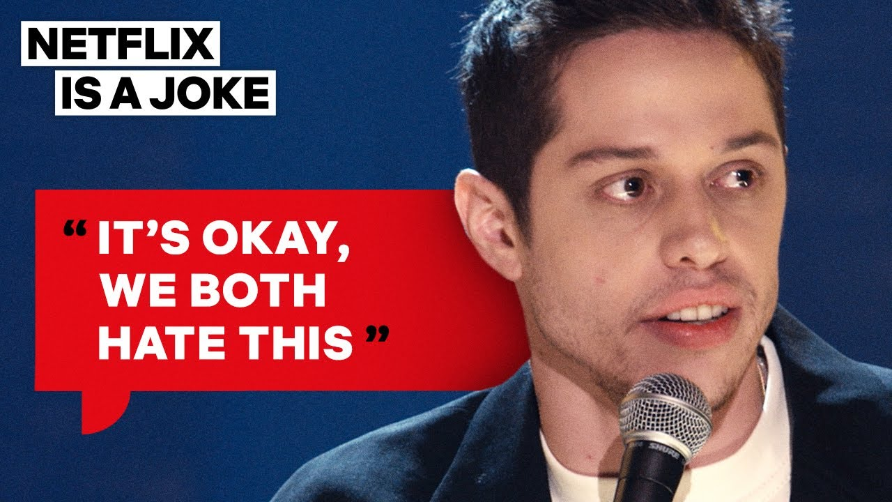 Pete Davidson Has A Big Problem With Fondlers | Netflix Is A Joke