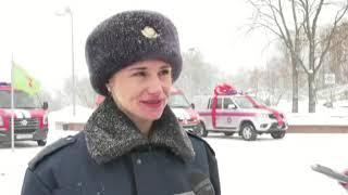новобранцы МЧС приняли присягу в Витебске