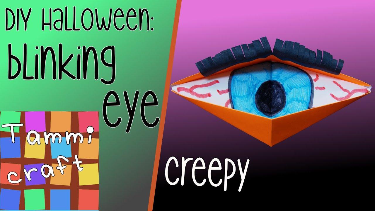 How to make origami blinking eye easy to follow tutorial youtube jeuxipadfo Choice Image