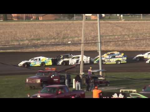 IMCA Sport Mod feature Benton County Speedway 4/29/18