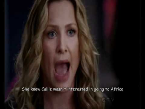 arizona and callie first meet quotes