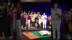 MLHS Choir performance at Brookfield Lutheran Church