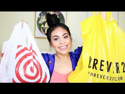 HUGE SPRING CLOTHING HAUL 2017: Tjmaxx, Forever 21 + More! | juicyyyyjas