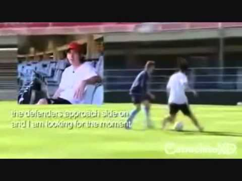 Time to use break to take your skills up a notch with this vintage video of a very young Messi teaching his dribbling skills and tricks.