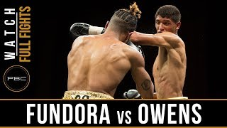 Fundora vs Owens FULL FIGHT: April 13, 2018 - PBC on FS1