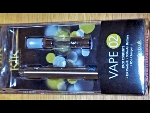 KiK Vape 02 E-cig Premium Starter Kit Review for Beginners Smokefree