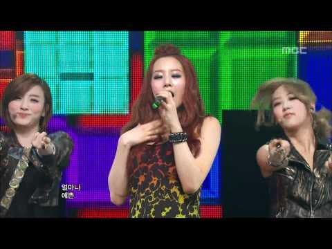 EXID - Whoz That Girl, 이엑스아이디 - 후즈 댓 걸, Music Core 20120310